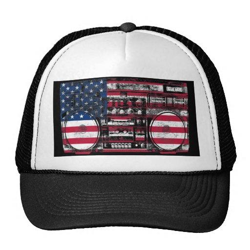 american boombox hat