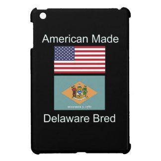 """""""American Born..Delaware Bred"""" Flag Design iPad Mini Covers"""