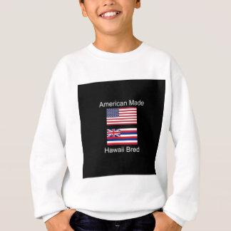 """American Born..Hawaii Bred"" Flags and Patriotism Sweatshirt"