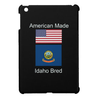 """American Born..Idaho Bred"" Flags and Patriotism iPad Mini Cases"
