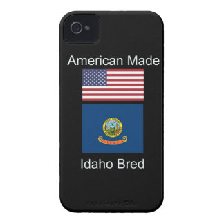 """American Born..Idaho Bred"" Flags and Patriotism iPhone 4 Cover"