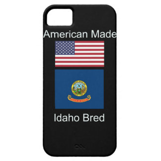"""American Born..Idaho Bred"" Flags and Patriotism iPhone SE/5/5s Case"