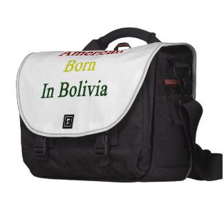 American Born In Bolivia Laptop Commuter Bag