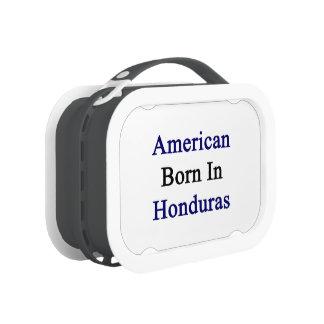 American Born In Honduras Replacement Plate