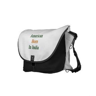 American Born In India Messenger Bag