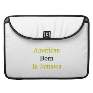 American Born In Jamaica MacBook Pro Sleeve