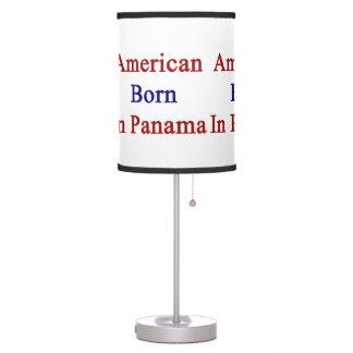 American Born In Panama Desk Lamp