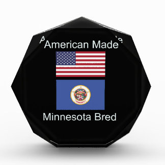 """American Born..Minnesota Bred"" Flag Design Award"