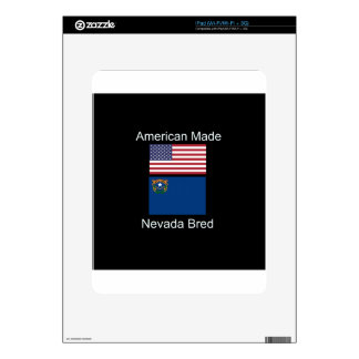 """American Born..Nevada Bred"" Flags and Patriotism Skins For The iPad"