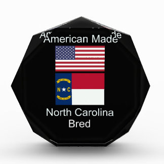 """American Born..North Carolina Bred"" Flag Design Award"
