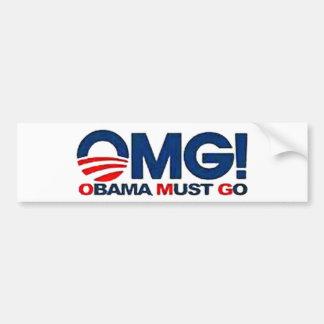 American Born Republic OMG bumper sticker