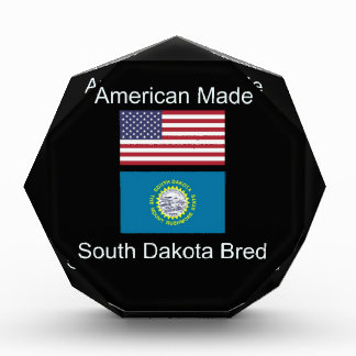 """American Born..South Dakota Bred"" Flag Design Award"