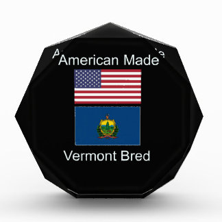 """American Born..Vermont Bred"" Flags and Patriotism Award"
