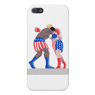 american boxing boxer knockout punch case for iPhone 5
