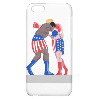 american boxing boxer knockout punch iPhone 5C case