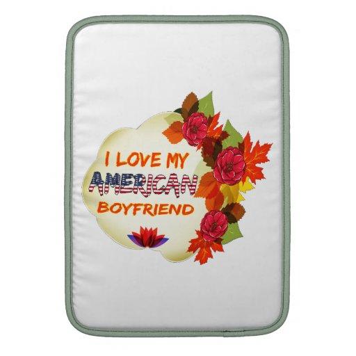 American Boyfriend MacBook Sleeves