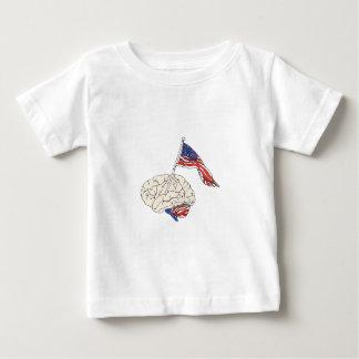 American Brain Baby T-Shirt