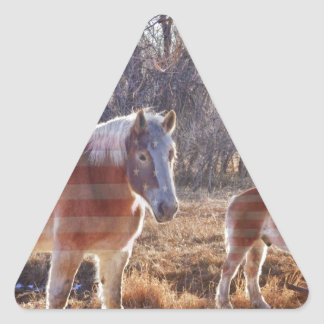 American Breed Triangle Sticker