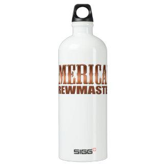 american brewmaster home brewer beer aluminum water bottle