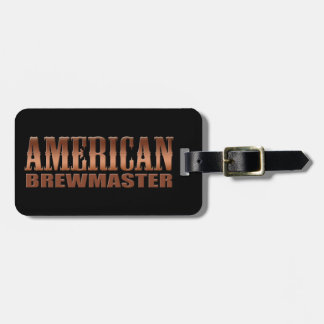 american brewmaster home brewer beer luggage tags