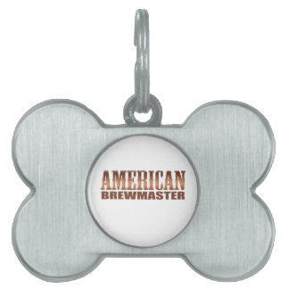 american brewmaster home brewer beer pet name tag