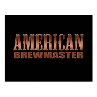 american brewmaster home brewer beer postcard
