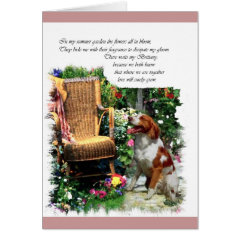 American Brittany Spaniel Art Gifts card