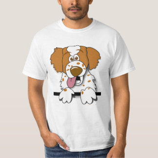 American Brittany Spaniel Cartoon Dog Shirt
