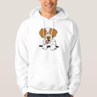 American Brittany Spaniel Cute Cartoon Dog Hoodie