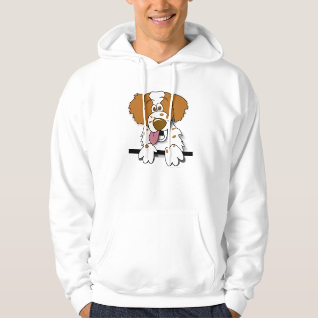 American Brittany Spaniel Cute Cartoon Dog