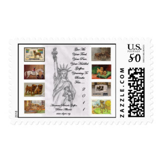 American Brussels Griffon Rescue Alliance 2011 Postage