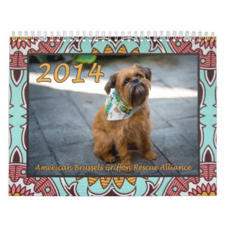 American Brussels Griffon Rescue Alliance Calendar