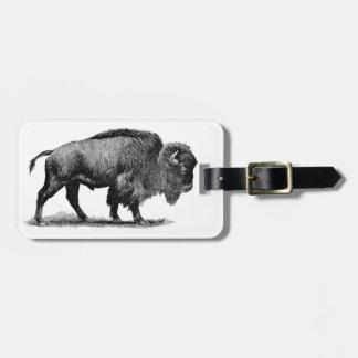 American Buffalo Bag Tag