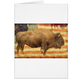 American Buffalo Card