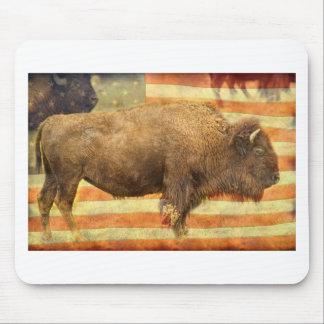 American Buffalo Mouse Pad