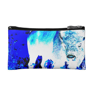 American buffalo Posterization Cosmetic Bag