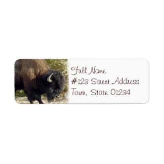 American Buffalo Return Address Label