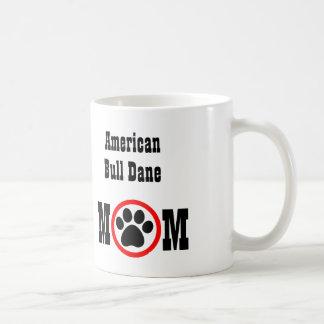 American Bull Dane Dog Lover Coffee Mug
