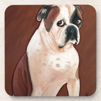 American Bull Dog Beverage Coaster