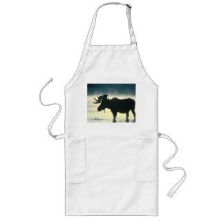American Bull Moose Long Apron