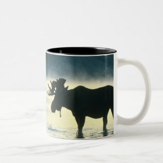 American Bull Moose Two-Tone Coffee Mug