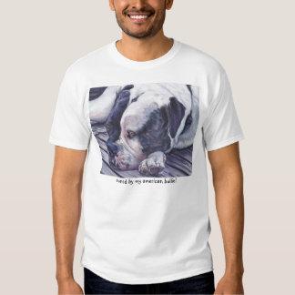 American Bulldog art T-Shirt
