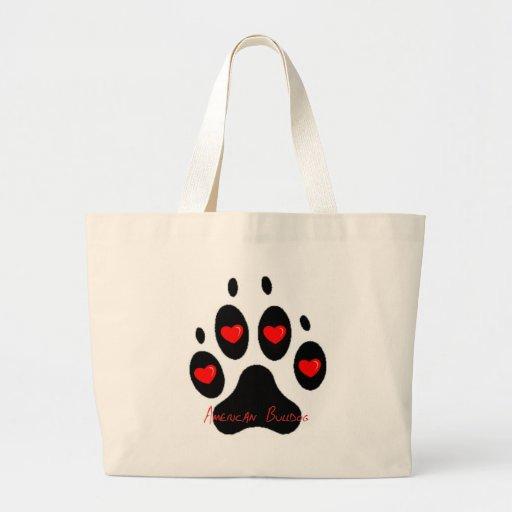 American Bulldog Canvas Bags