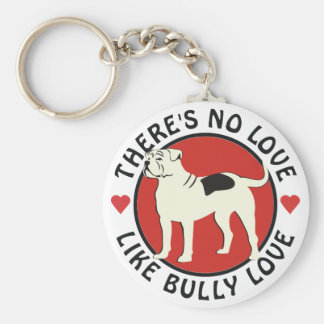 American Bulldog - Bully Love Key Chains