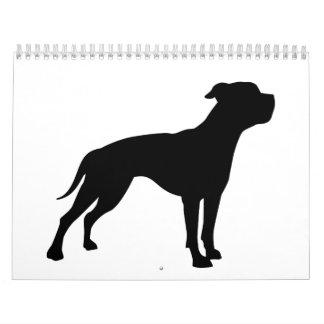 American Bulldog Calendar