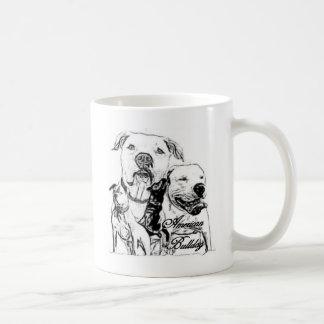 American Bulldog Classic White Coffee Mug