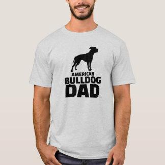 American Bulldog Dad T-Shirt