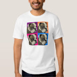 American Bulldog Does Pastel T-shirt