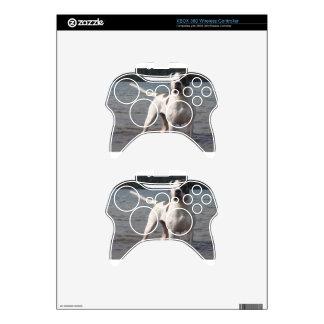 American Bulldog Dog In The Water Xbox 360 Controller Skin