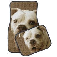 American Bulldog Floor Mat